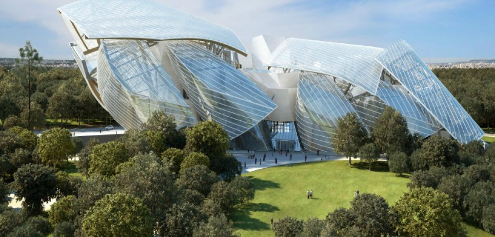 Fondation Louis Vuitton, by Frank Gehry