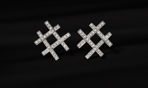 Reixa diamond earrings